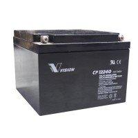 Акумуляторна батарея Vision CP 12V 24Ah (CP12240E-X)