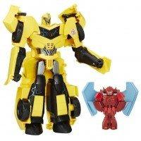 Игрушка HASBRO TRANSFORMERS Трансформер Bumblebee - Заряженые Герои: Роботы под прикрытием (B7067_B7069)