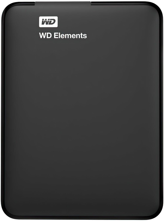 Жесткий диск WD 2.5 USB 3.00 1TB 5400rpm Elements Portable (WDBUZG0010BBK-WESN) фото