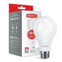 Светодиодная лампа MAXUS A80 20W 4100K 220V E27 (1-LED-5610-01)