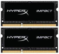 Пам'ять для ноутбука HyperX DDR3 тисяча вісімсот шістьдесят 8GBx2 Impact (HX318LS11IBK2/16)