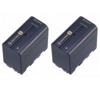 Акумуляторна батарея SONY NP-F970 2шт. (2NP-F970/B)
