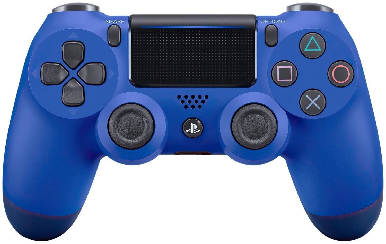 Беспроводной геймпад SONY Dualshock 4 V2 Wave Blue для PS4 (9894155) фото 1