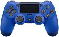 Бездротовий геймпад SONY Dualshock 4 v2 Wave Blue для PS4 (9894155)