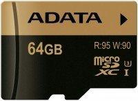 Карта памяти Adata microSDXC 64GB UHS-I U3 XPG R95/W90MB/s