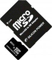 Карта памяти Silicon Power microSDHC 16GB Class 10 R10MB/s + SD-адаптер