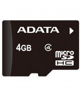 Карта памяти Adata microSDHC 4GB Class 4