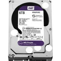 Жесткий диск внутренний WDC HDD SATA 6TB 6GB/S 64MB/PURPLE (WD60PURZ)