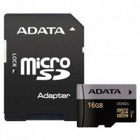 Карта памяти Adata microSDHC 16GB Class 10 UHS-I U3 Premier Pro R95MB/s + SD-адаптер