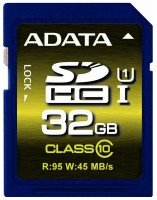 Карта памяти ADATA SDHC 32GB Class 10 UHS-I U1 R50/W10 MB/s (ASDH32GUI1CL10-R)