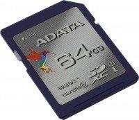 Карта памяти ADATA SDXC 64GB Class 10 UHS-I U1 R50/W10 MB/s (ASDX64GUICL10-R)