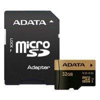 Карта памяти Adata microSDHC 32GB XPG UHS-I U3 RETAIL W/1 R95/W90MB/s + SD-адаптер