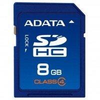 Карта памяти ADATA SDHC 8GB Class 4 R4/W4 MB/s (ASDH8GCL4-R)