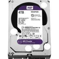 Жесткий диск внутренний WDC HDD SATA 4TB 6GB/S 64MB/PURPLE (WD40PURZ)