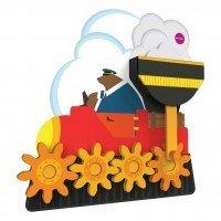 Настенная игрушка Oribel VERITIPLAY Шестиренки мистера Медведя (OR813-90001)