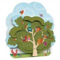 Настенная игрушка Oribel VERITIPLAY Дом мистера Белки на дереве (OR801-90001)