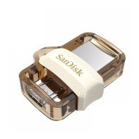 Накопичувач USB 3.0 SANDISK Ultra Dual Drive m3.0 OTG 32GB White-Gold (SDDD3-032G-G46GW)