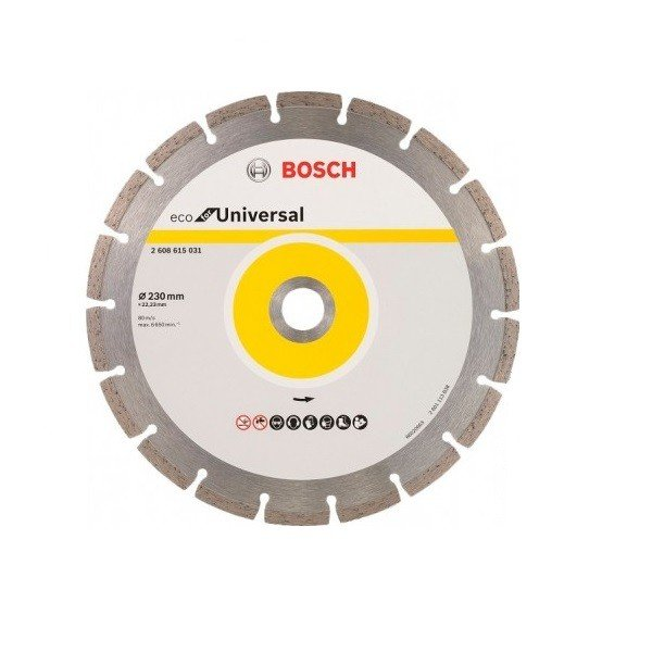 bosch Круг алмазный отрезной Bosch EECO Universal 230-22.23 2608615031