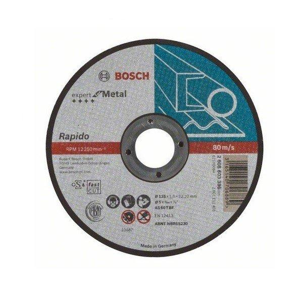 bosch Отрезной круг по металлу Bosch 125Х1,0 (2608603396)