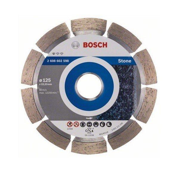 bosch Алмазный отрезной диск Bosch Standard по камню 125-22.23 2608602598