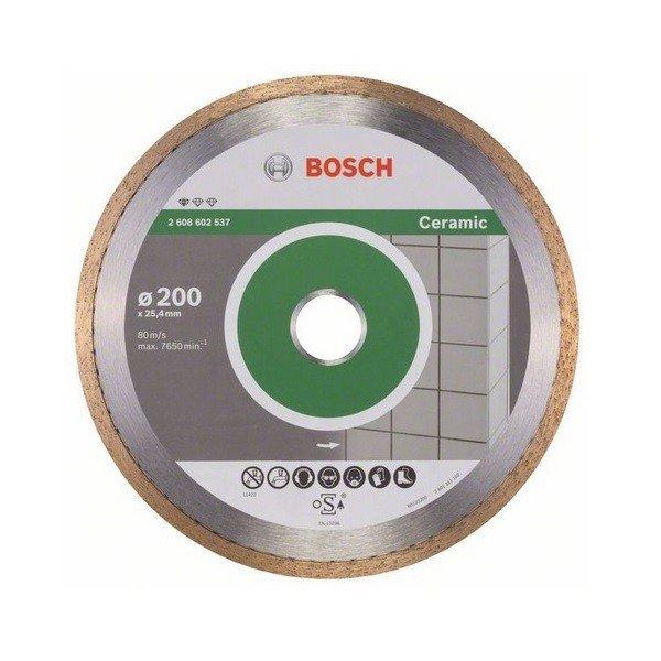bosch Алмазный отрезной диск Bosch Standard для керамики 200-25.4 2608602537