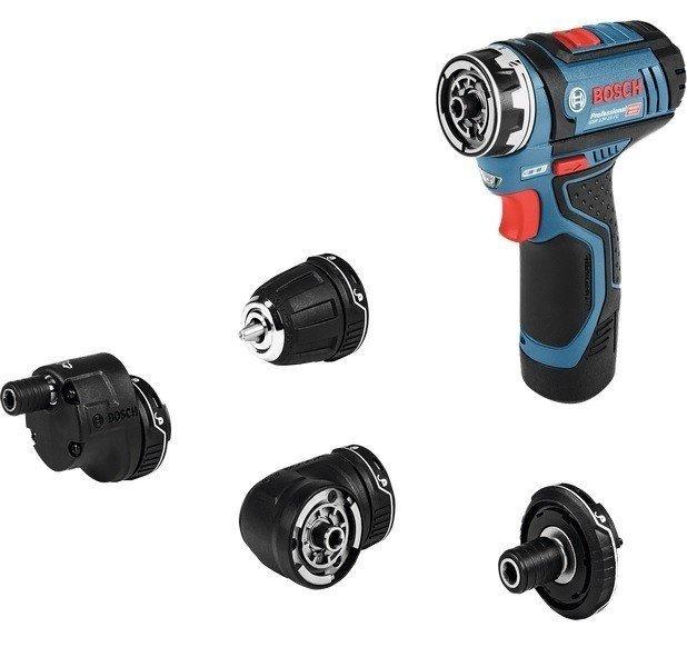 Акумуляторний шуруповерт Bosch GSR 12V-15 FC (06019F6000)фото1