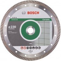 Круг алмазный отрезной Bosch Best for Ceramic 230х1,2 (2608602240)
