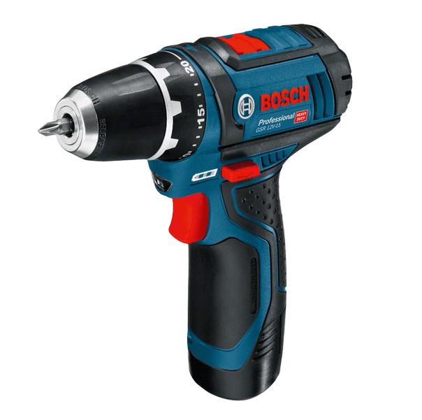 Акумуляторний шуруповерт Bosch GSR 10,8-2-LI (без зарядного і акумулятора) (0601868101) фото1