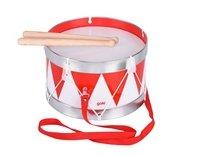 Музыкальный инструмент goki Барабан с шлейкой красный (61001G)