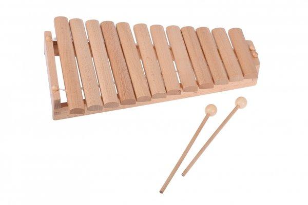 Купить Музыкальный инструмент goki Ксилофон на 12 мелодий (61969G)