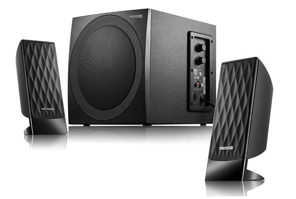 Купить Компьютерная акустика, Акустическаясистема2.1MICROLABM-300black (M-300)