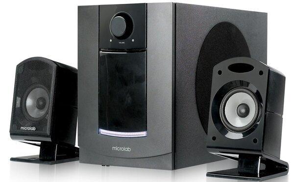 Купить Компьютерная акустика, Акустическаясистема2.1MICROLABM-800black (M-800)