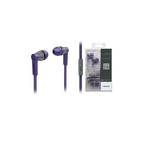 ≡ Навушники Philips SHE5105PP 10 Mic Purple – купити в Києві  9e1cc33418544