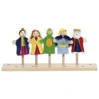 Набор кукол goki для пальчикового театра Король Лягушка (51899G)