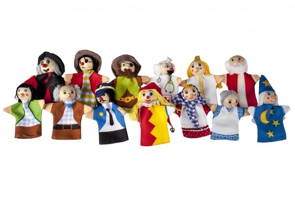 Купить Набор кукол goki для пальчикового театра (SO399G)