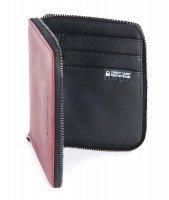 Кошелёк кожаный Tucano Sicuro Premium Wallet (красный)