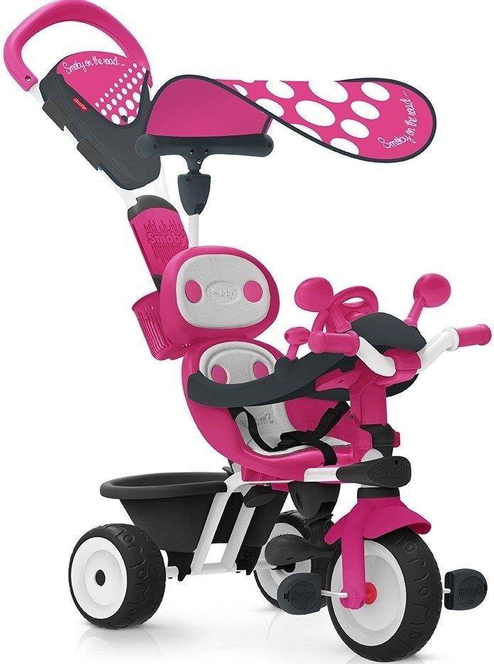 ≡ Триколісний велосипед Smoby КОМФОРТ рожевий (740600) – купити в ... e0ea9ab0f3ae1