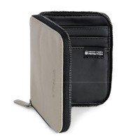 Гаманець шкіряний Tucano Sicuro Premium Wallet (сірий)
