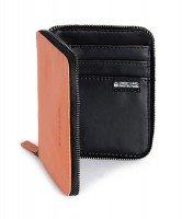 Кошелёк кожаный Tucano Sicuro Premium Wallet (оранжевый)