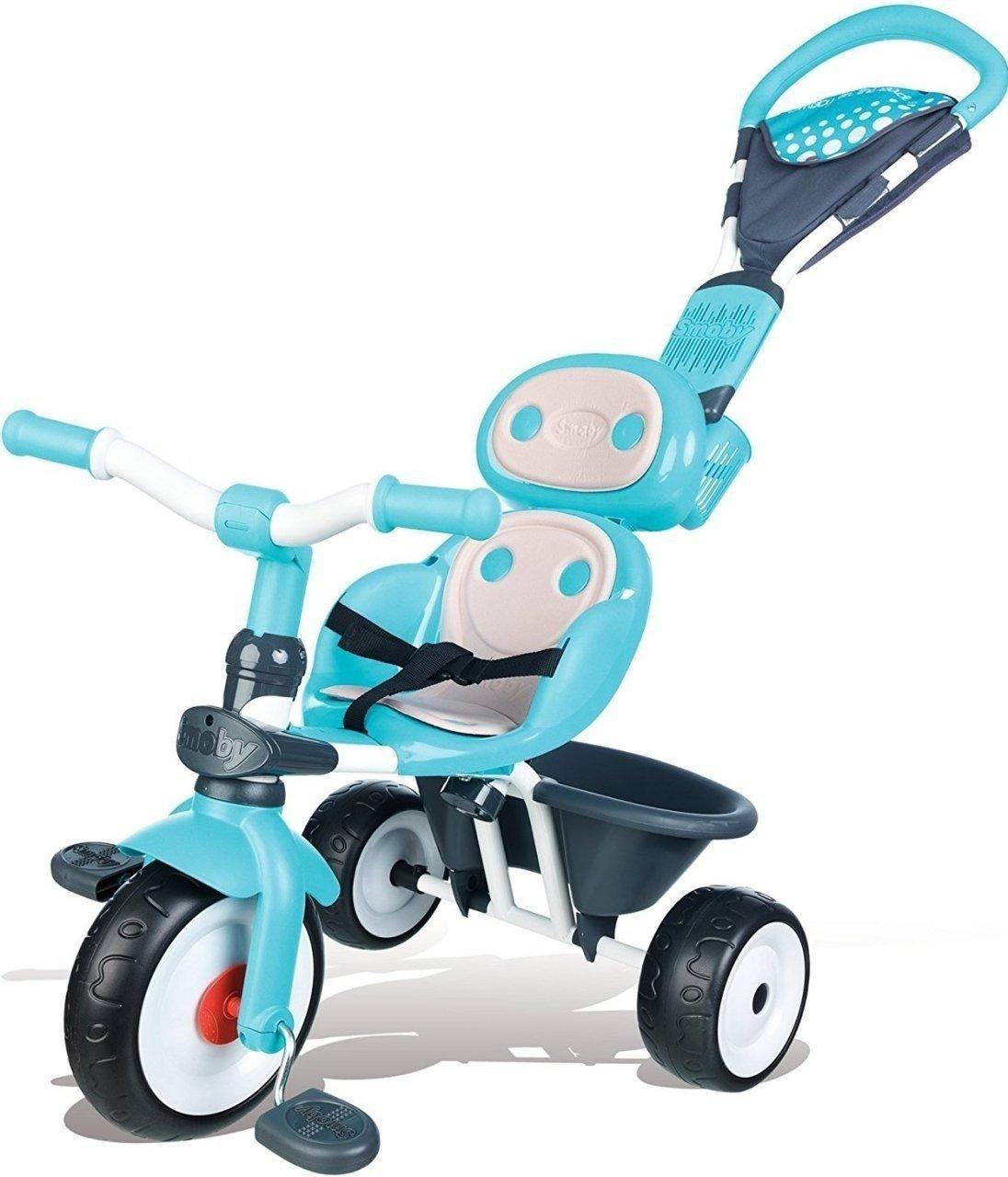 ≡ Триколісний велосипед Smoby КОМФОРТ блакитний (740601) – купити в ... 42290ace2c65c