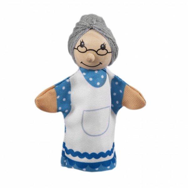 Купить Кукла goki для пальчикового театра Бабушка (SO401G-3)