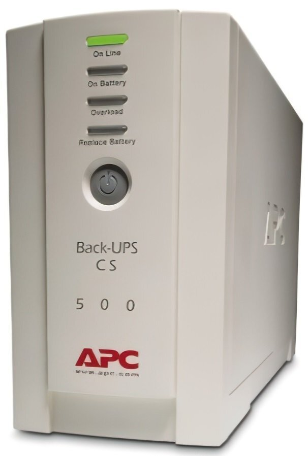 ДБЖ APC Back-UPS CS 500VA (BK500EI)фото