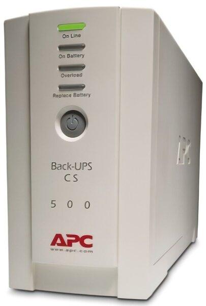 Купить ИБП APC Back-UPS CS 500VA (BK500EI)