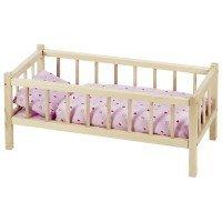 Кроватка для кукол goki с боковинками (RA107G)