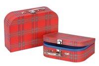 Игровой чемодан goki Красный в полоску (60103G)