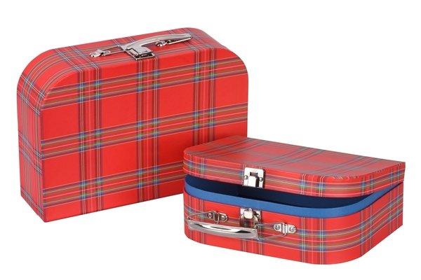 Купить Игровой чемодан goki Красный в полоску (60103G)