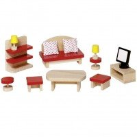 Набор для кукол goki Мебель для прихожей (51716G)