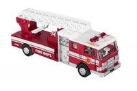 Машинка металическая goki Пожарная машина лесница красная (12115G-2)