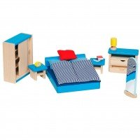 Набор для кукол goki Мебель для спальни (51906G)