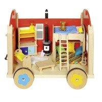 Кукольный домик goki Тележка пилигримов (51814G)